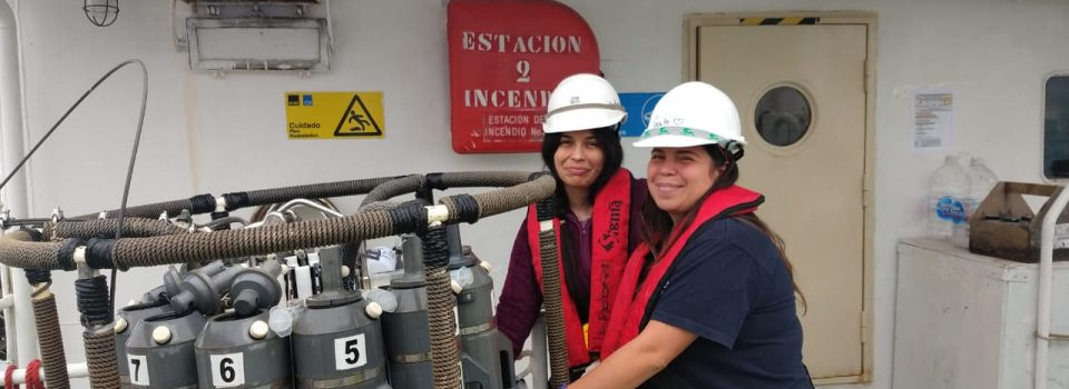"Women on board ""Female majority on IFOP international oceanographic research cruise"""