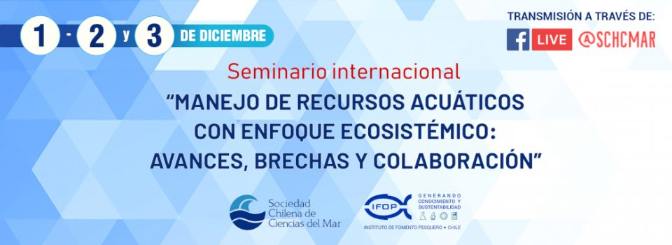 "International ""Management of Aquatic Resources with an Ecosystemic Approach"" Seminar was inaugurated today"