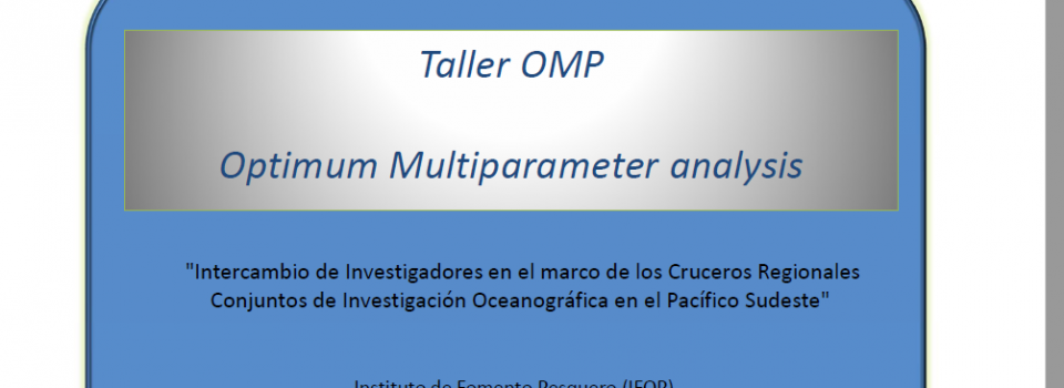 Researchers from Ecuador, Colombia, Peru and Chile participated in a Workshop about Optimal Multiparametric Analysis method Implementation and application