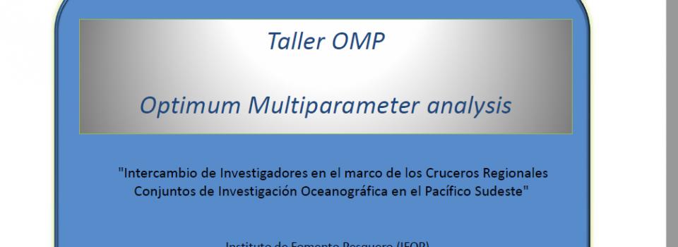 Investigadores de Ecuador, Colombia, Perú y Chile participan en Taller para la Implementación y aplicación del método de Análisis Óptimo Multiparamétrico