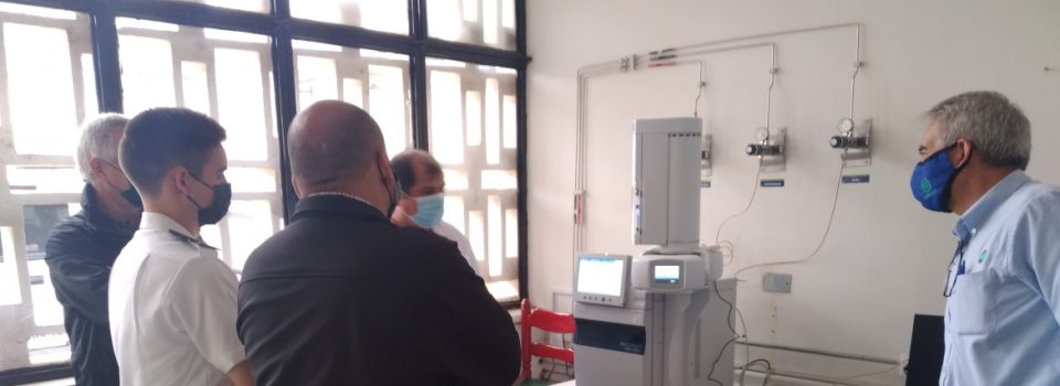 IFOP Arica Inaugura Laboratorio de Cromatografía de Gases