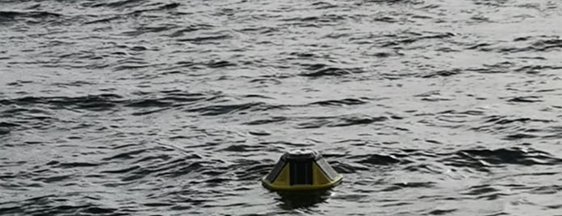 IFOP installs wave measurement buoy within its environmental conditions of salmon farming  monitoring  program .